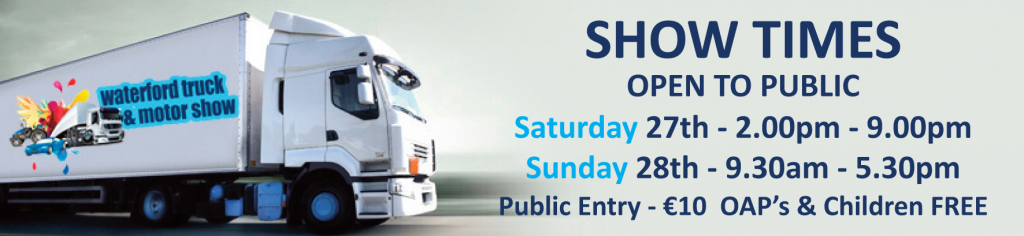 Waterford Truck show times