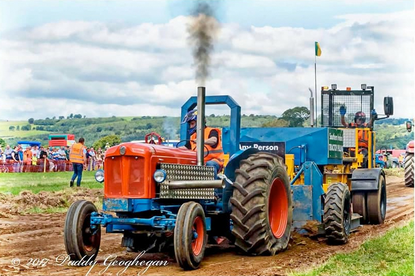 Southern ireland tractor pulling